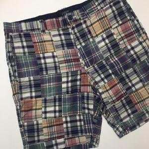 J. Crew | Multi Plaid Patchwork Women's Shorts